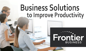 Frontier Business Services, Frontier Small Business Internet, Business Internet options, customer Wifi