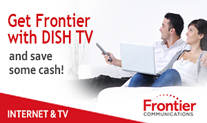 Frontier Internet and Dish TV