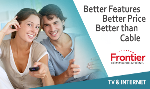 Frontier Internet and TV Double Play