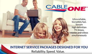 Cable ONE Power Home Plan 200 Mbps Internet
