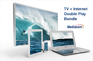 Mediacom Internet TV Double Play Bundle