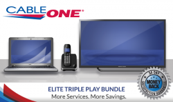 Cable One Internet + TV + Phone
