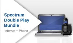 Spectrum Internet + Home Phone Double Play Bundle