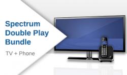 Spectrum TV + Phone Double Play Bundle