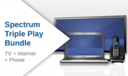 Spectrum Internet, TV, Phone Triple Play Bundle