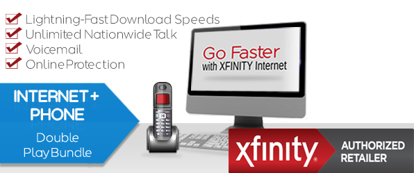 XFINITY PERFORMANCE INTERNET & VOICE UNLIMITED™ DOUBLE PLAY BUNDLE ...
