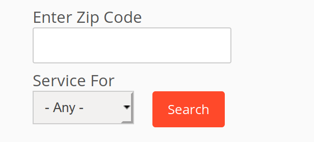 Zip Code ISP Search Tool